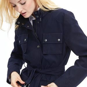Banana Republic navy field jacket